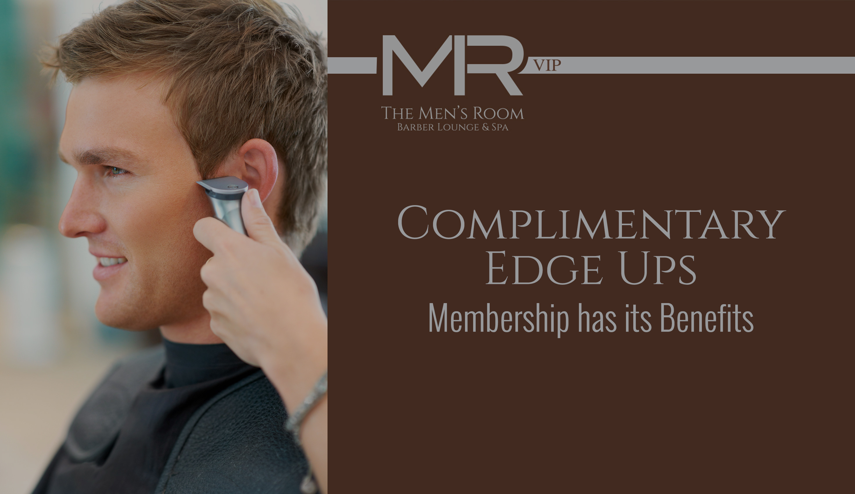 The Men's Room Barber Lounge & Spa Membership