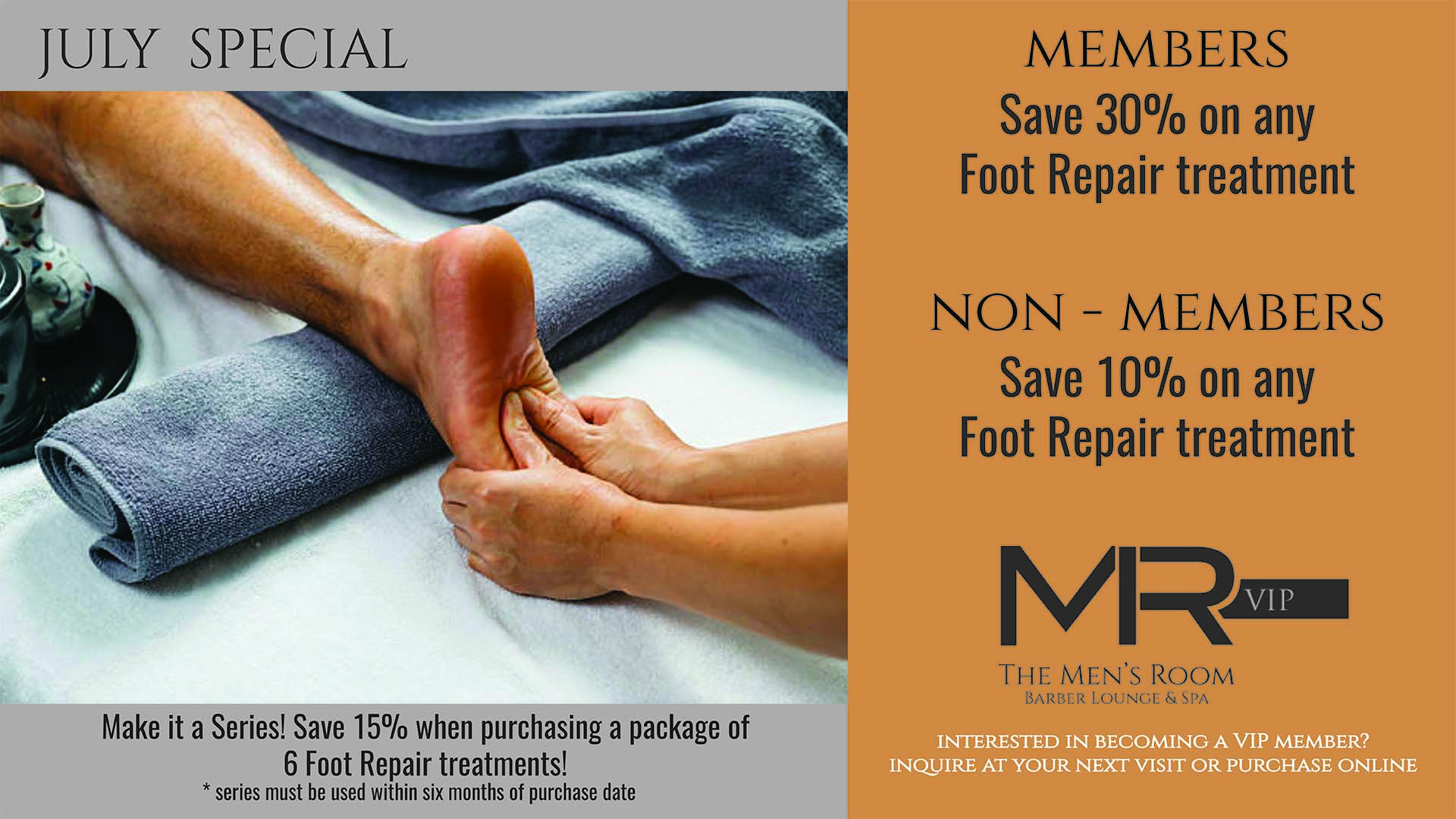 Foot Repair Treatment